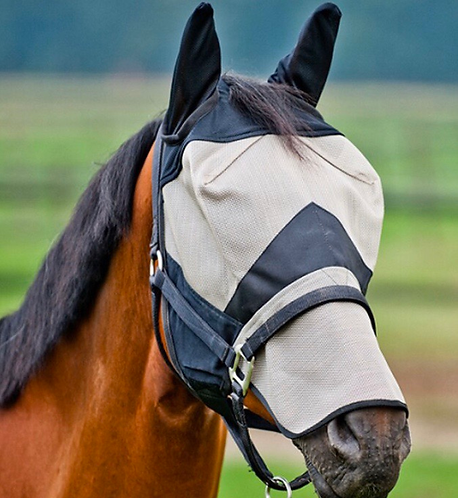 Equestar Fly Mask-Long with ears