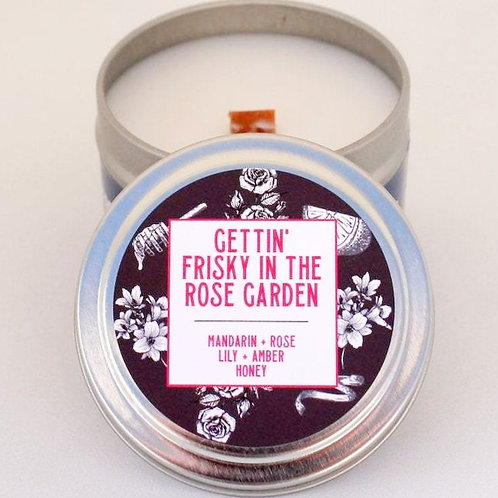 Gettin' Frisky in the Rose Garden