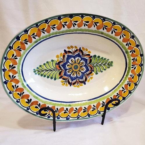 Oval Platter, Med.