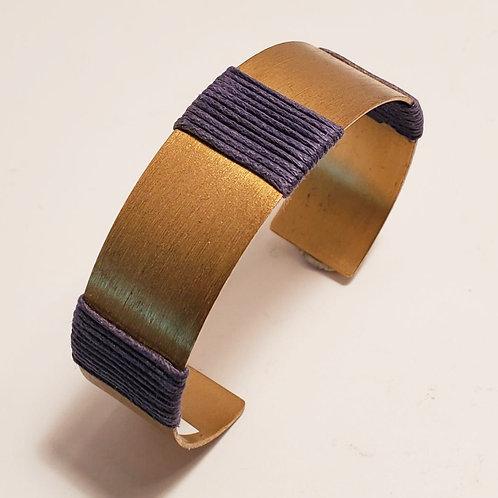 Matte Gold Cuff Bracelet