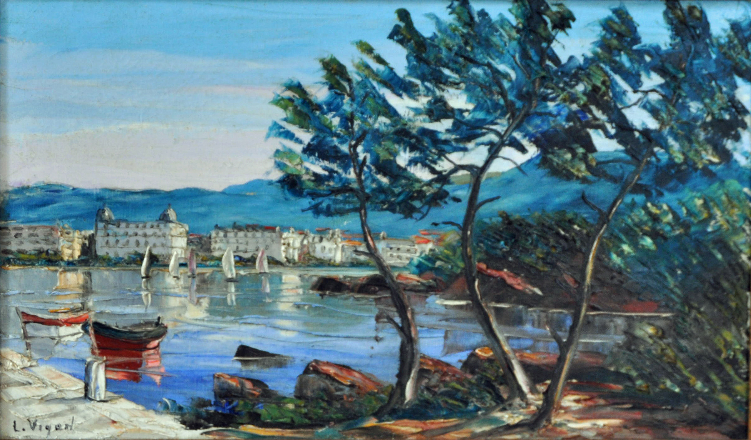 Cannes vue des Iles
