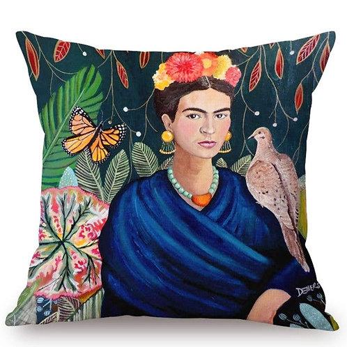 Frida and Nature Pillow