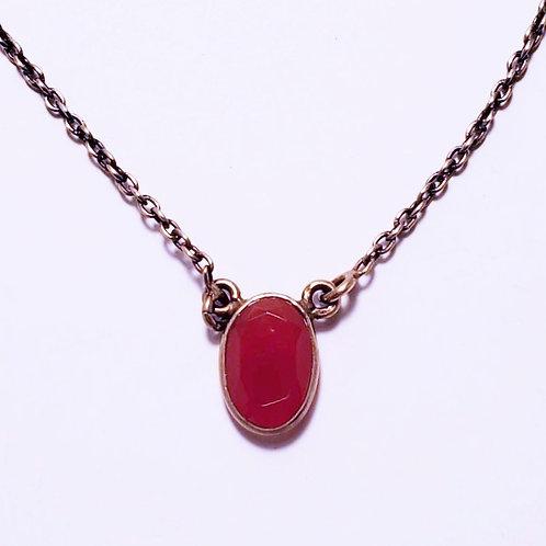 Carnelian Choker Necklace