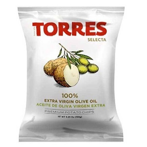 Small Potato Chips in Extra Virgin Olive Oil