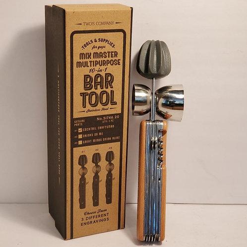 Mix Master Multipurpose 10-in-1 Bartender Tool in Gift