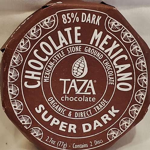 Super Dark Mexican Chocolate Disc