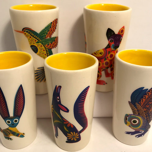 Alebrije Shot Glass