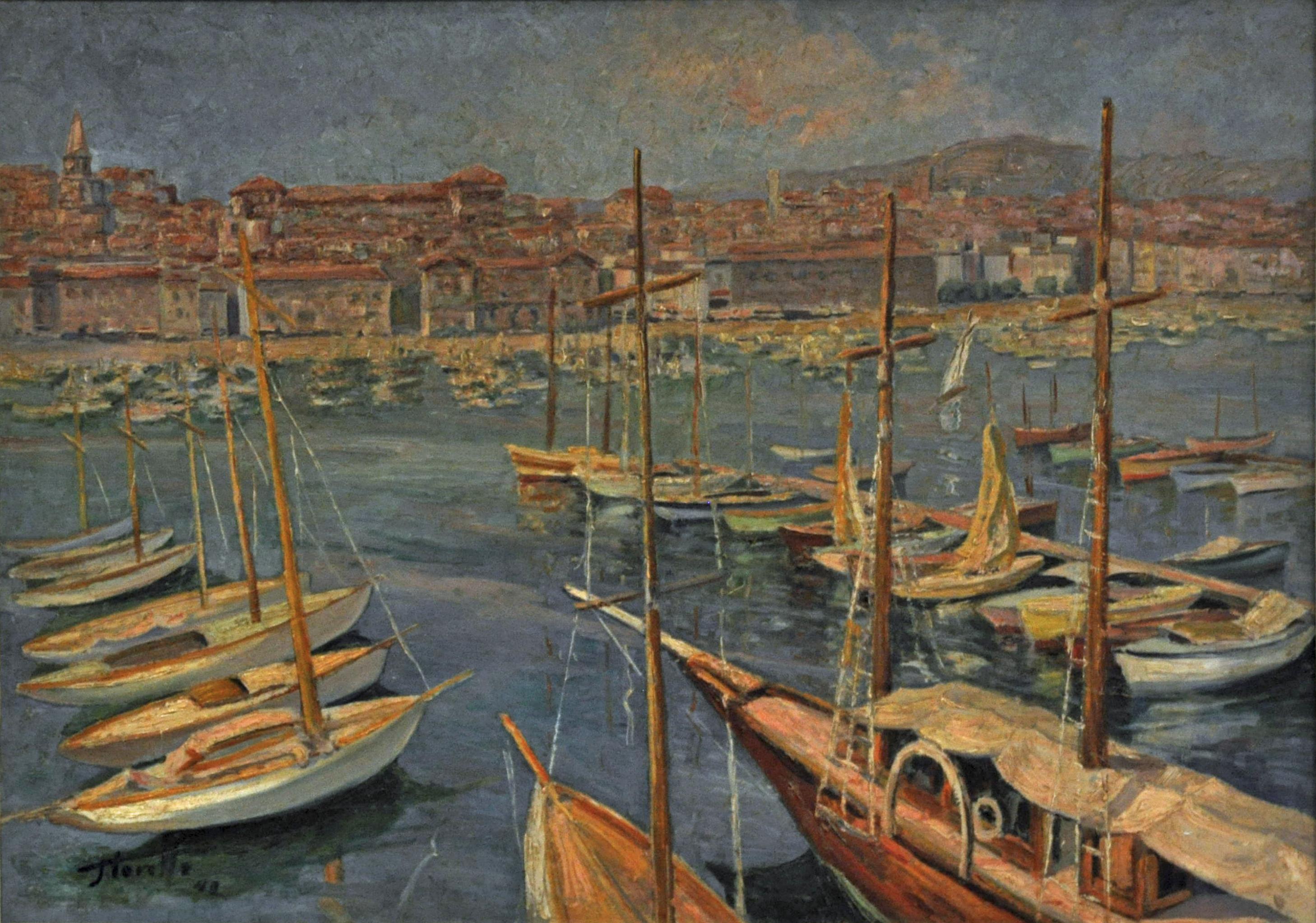 Port de Marseille 1942