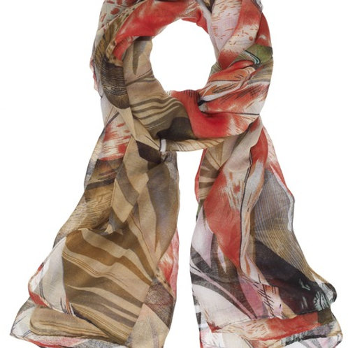 Painted Scarf