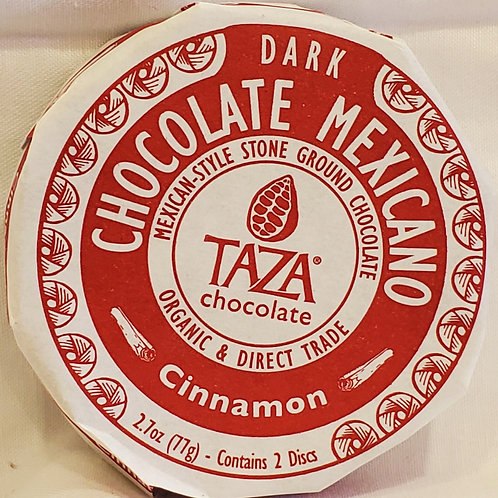 Cinnamon Mexican Chocolate Disc