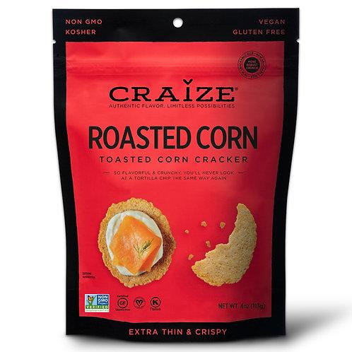 Roasted Toasted Corn Crackers