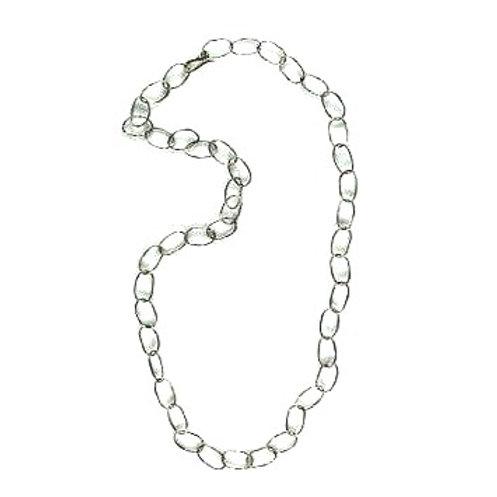 """Alpaca 22 1/2"""" Delicate Loop Chain Necklace"""
