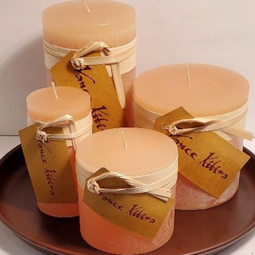 4 x 4  Unscented Candle