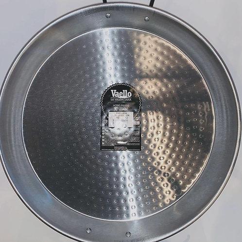 38 cm Paella Pan, Polished Carbon Steel