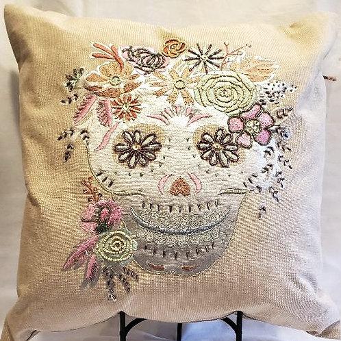 Pillow, Sugar Skull