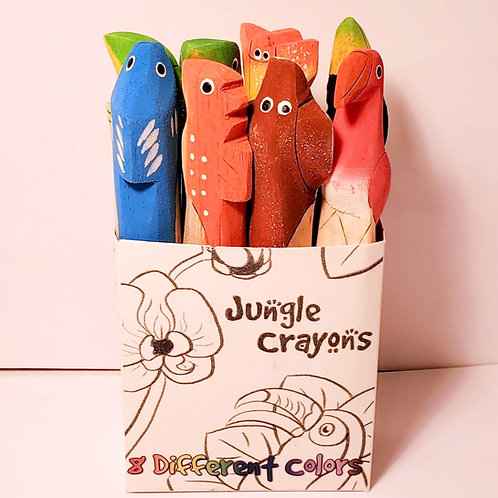 Jungle Crayons