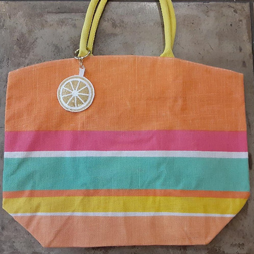 Citrus Themed Market Bag