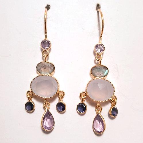 Gold Vermeil with Gemstones
