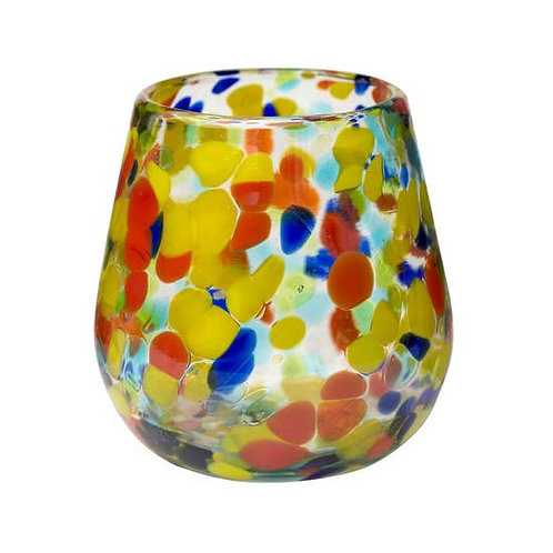 Wine Glass, Stemless Carnaval