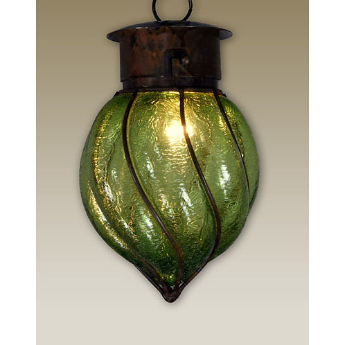 Medium Textured Pendant Light