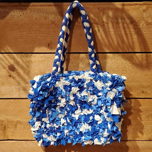 Small Woven Fringe Bag