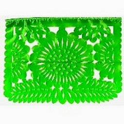11 x 14 Plastic Traditional Papel Picado
