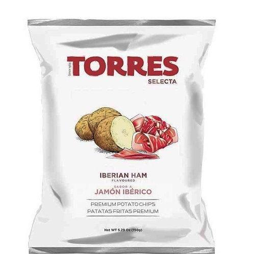 Small Iberian Ham Gourmet Potato Chips