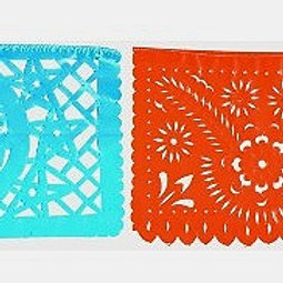 11 x 14 Paper Traditional patterns  Papel Picado
