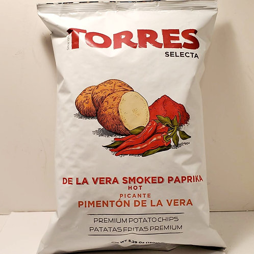 Potato Chips with Hot Smoked Paprika