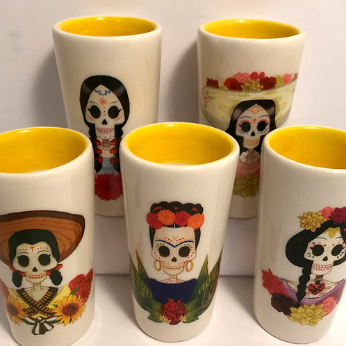 Catrina Shot Glass