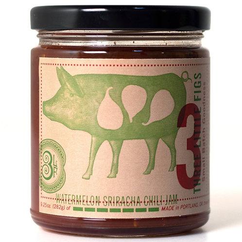 Watermelon Sriracha Chili Jam