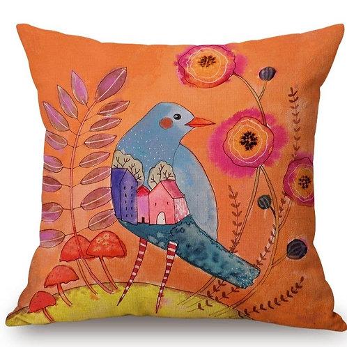 Dusk Bird Pillow