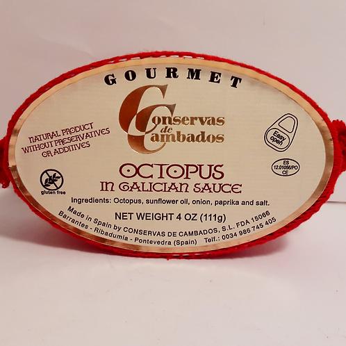 Pulpo Octopus in Galician Sauce