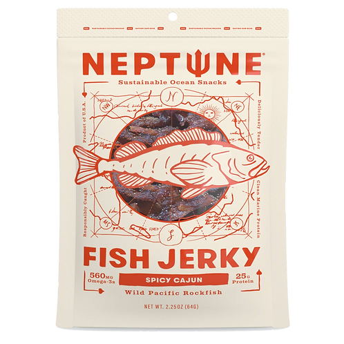 Spicy Cajon Fish Jerky