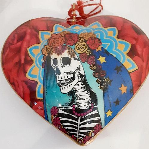 Bride Heart Ornament