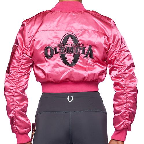 Olympia Pink Bomber Jacket
