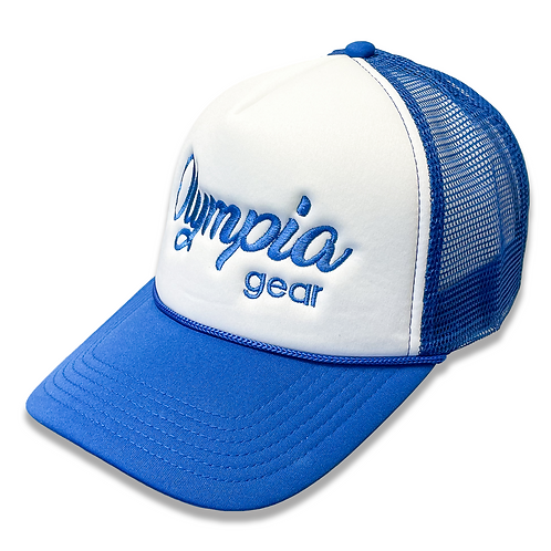 OG Olympia Trucker Hat - Royal