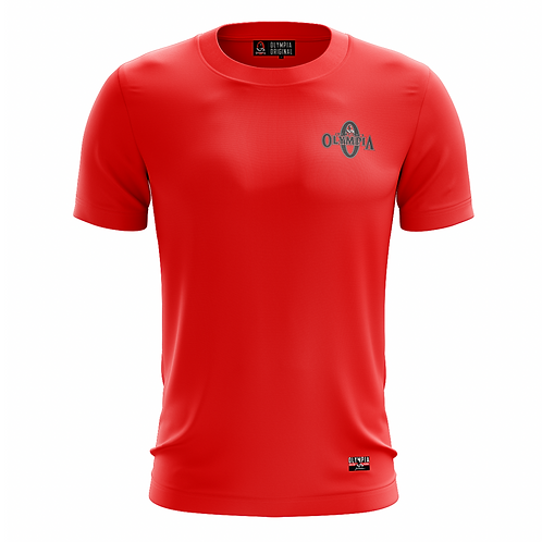 Olympia Signature Red Dry Performance T-Shirt