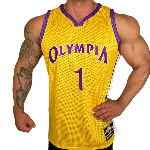 Olympia Gold and Purple Jersey