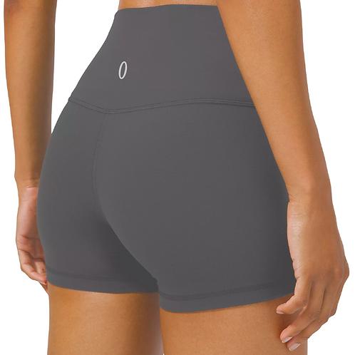 """Olympia Dark Grey Short Shorts 4"""""""