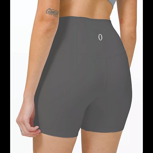 """Olympia Dark Grey Biker Shorts 6"""""""