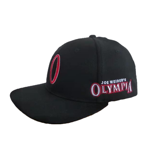 Olympia Black Fitted Hat