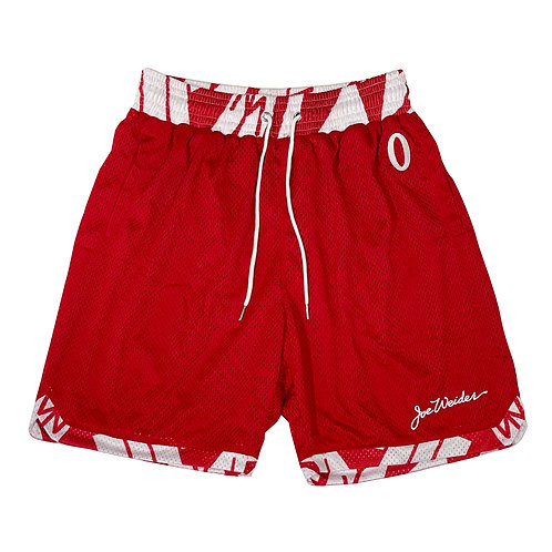 Olympia Strike Force Red Basketball Shorts