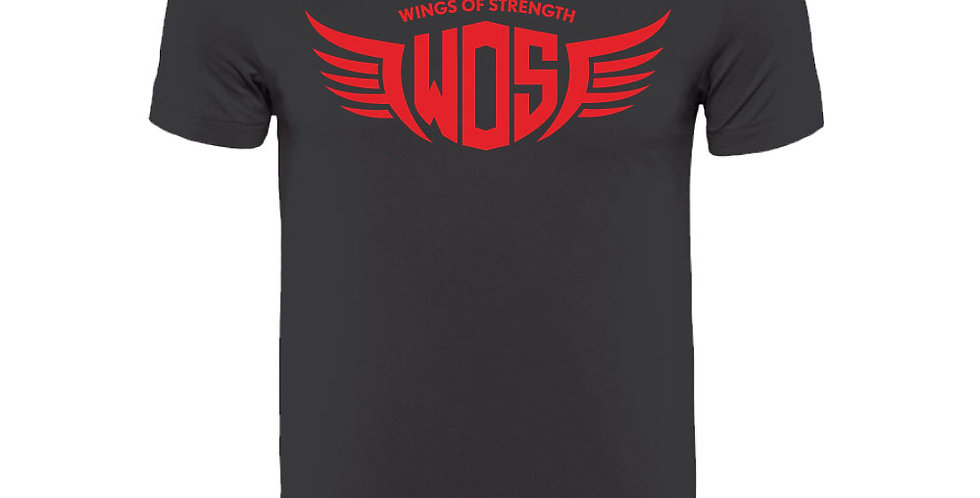BlackWings of Strength Unisex Red WOS T-Shirt