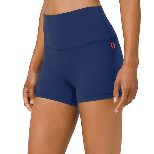 """Olympia Navy Short Shorts 4"""""""