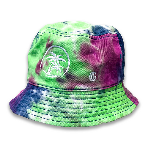 OG Casual Bucket Hat - Purple & Green Passion