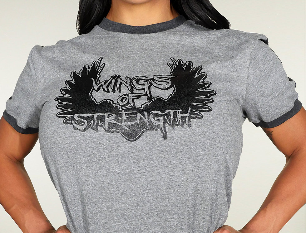 Wings of Strength Unisex Fine Soccer Jersey Shirt