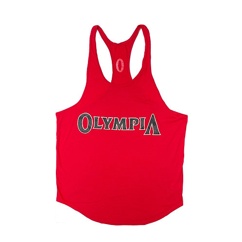 Olympia Red Y-Back Stringer Tank Top