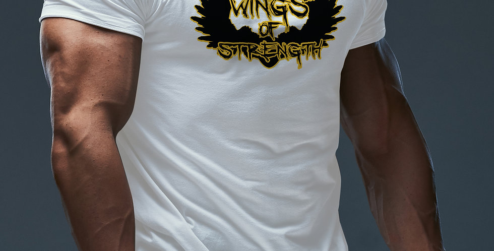 White Wings of Strength Unisex Valley Of The Sun T-Shirt