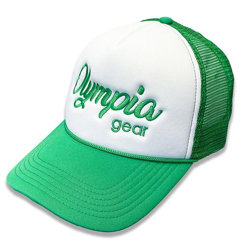 OG Olympia Trucker Hat - Kelly